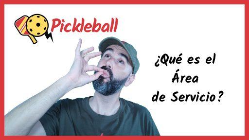 youtube pickleball area de servicio juego